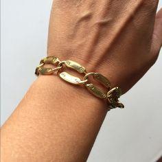 J Crew Gold Chain Bracelet Beautiful and simple gold chain bracelet. In excellent condition. J. Crew Jewelry Bracelets