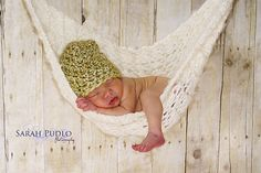 I want to knit a baby hammock to use as a photo prop - I just need to find some needles that are big enough.