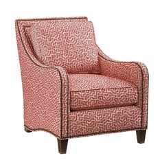 Koko Chair - Red - Beige - Arm Chair |  Tommy Bahama 7212-11