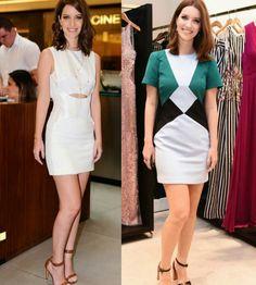 Adorei os looks simples/chiques da Nathalia Dill para os eventos da Carla Amorim e PatBo!✨ São bem práticos e podem ser usados de dia ou de noite. #nathaliadill #fashionstyle