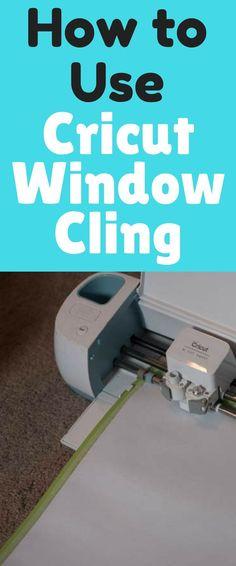 Window Calendar Tutorial with Cricut Window Cling