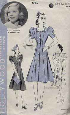 Hollywood 1796 | VintageStitches.com