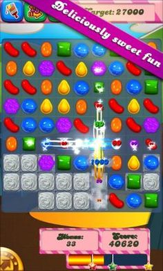 Candy Crush Saga...I'm seriously addicted to this game!
