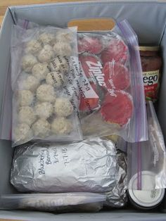Freezer Meal Gift Basket {for new moms, or really anyone who can benefit from home cooked meals} Recipes included!