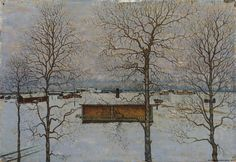 Finnish National Gallery - Art Collections - Winter Landscape