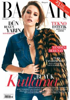 Serenay Sarıkaya by Emre Guven for Harper's Bazaar Turkey November 2016