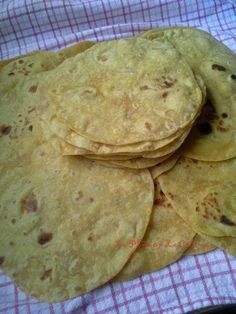 Soft Flour-Corn Tortillas. Taste like a corn tortilla, but is soft and fluffly like a flour tortilla.