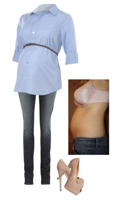 """""""Bump."""" by sarah-narnia ❤ liked on Polyvore featuring J Brand and Giuseppe Zanotti"""