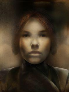 Portrait Sophie by Hanneke van de Pol