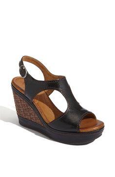 fav color, sandals, shoe, black