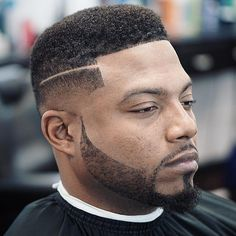 Fade With A Shaved Part Men's Haircut Ideas, Men's Short Haircuts, Haircuts for Men, Hairstyles for Men
