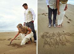 Boho Literary Themed Beach Wedding by Andrea Carlyle River Lodge, Book Lovers, Real Weddings, Cool Photos, Wedding Ideas, Boho, Beach, The Beach, Beaches