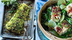 Lise Finckenhagens tre forskjellige skrei-oppskrifter Avocado Toast, Sprouts, Cabbage, Vegetables, Breakfast, Corse, Spinach, Breakfast Cafe, Veggies