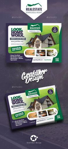 Real Estate Flyer Template PSD, InDesign INDD