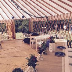Wedding in yurt Adam&Ewa