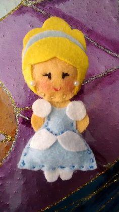 Broche de linda Cinderella