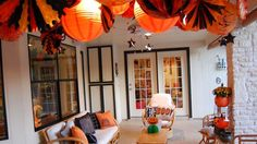 This Woman Is the Queen of Decorating for Halloween | Tiny House Listing