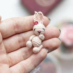 Tiny Bunny - so cute - free pdf pattern Tiny Bunny - so c. Free Pattern Animals Fox Free Pattern Animals Tiny Me Amigurumi Free Pattern Animals Crochet Keychain Pattern, Crochet Bunny Pattern, Crochet Animal Patterns, Crochet Patterns Amigurumi, Crochet Dolls, Kawaii Crochet, Cute Crochet, Crochet Crafts, Crochet Projects