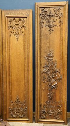 Continental carved oak boiseries : Lot 6452