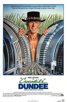 Crocodile dundee movie in english. The movie crocodile dundee, although displaying the bush as a. Crocodile dundee star paul hogan's wife, linda hogan, has filed for. Classic 80s Movies, Classic Comedies, Great Movies, Awesome Movies, Crocodile Dundee, Love Movie, I Movie, Film Stream, 80s Movie Posters