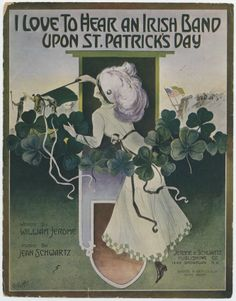 I Love To Hear An Irish Band Upon St. Patrick's Day #irish #stpatricksday #sheetmusic
