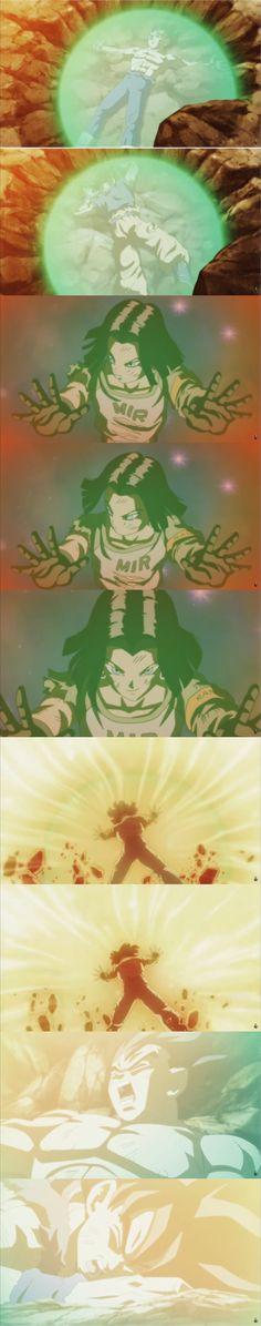 Dragon Ball Super 127 ( Android 17 saving Goku and Vegeta 😢)