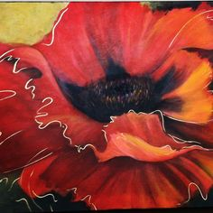 """Poppy Love"" - by Eleatta Diver"