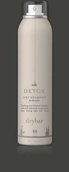 Dry Shampoo for Brunettes The only thing better than a perfect blowout is one that lasts! Detox for Brunettes is a dry shampoo for dark hair that absorbs oils, adds body & lift, and leaves hair feelin Hair Shampoo, Dry Shampoo, Beauty Secrets, Beauty Hacks, Beauty Tips, Makeup Tips, Hair Makeup, Dream Hair, Brunette Hair