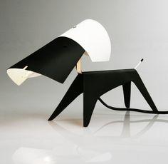 A pair of Le Chien table lamps Boris Lacroix for Disterod, c.1950´s, France. Douglas Rosin / 1stDibs