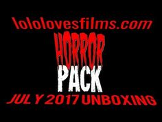 Want to know what's in 2017's HorrorPack subscription box?! Here's our unboxing!!