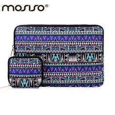 d8768d912d7 MOSISO Canva Bohemian Style Laptop Cover Case Bag 11.6 13.3 15.6inch Sleeve  Case For Macbook/Asus/Acer/HP Notebook Computer Bags