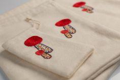 Treasure Collectors Set of 3 Sacks  #polaparysek #kids #embroidery #stiches #craft #handmade #tradition #freetime #onceuponatime #fairytale #storytelling