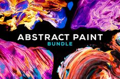 80 Unique Custom-Made Abstract Paintings - only $21!