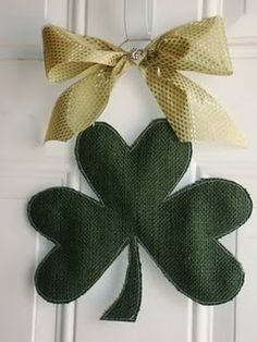 Shamrock Door Hanging