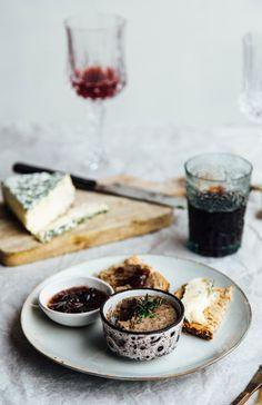 Faux gras - mushroom, walnut, lentil paté — Nourish Atelier