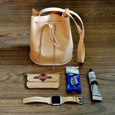 handmade bag leather type D
