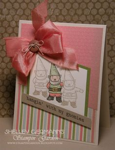 Stampin' Garden: Gnome Sweet Gnome....Yes, It Is!