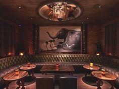 Tao Downtown New York by Rockwell Group « Adelto Adelto Oriental Restaurant, Luxury Restaurant, Restaurant Design, Tao Restaurant, Cigar Lounge Decor, Bar Lounge, Lounge Design, Cafe Design, Interior Design