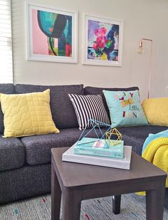 See how Jen styled her home with Freedom's spring/summer range - The Interiors Addict Interior Trim, Interior Design, Sofa, Couch, Room Accessories, Around The Corner, Love Seat, Freedom, Spring Summer