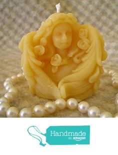 Pure Natural Beeswax Tiny Angel Cupid Seraphim Candle from Peace Blossom Candles http://www.amazon.com/dp/B01C0QCN60/ref=hnd_sw_r_pi_dp_ejehxb101YVDV #handmadeatamazon
