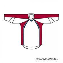 Kamazu FlexxICE 20200 Colorado Avalanche TEAM Junior Hockey Jersey
