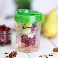 Mason Jar Infuser! Für frisches, Infused Water! Shop now!