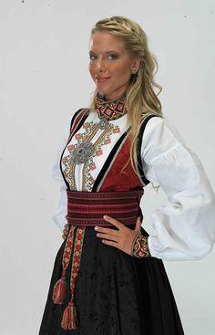 Norwegian Clothing, Scandinavian Embroidery, Norway Viking, Swedish Women, Costumes Around The World, Scandinavian Fashion, Medieval Dress, Folk Costume, Cool Costumes