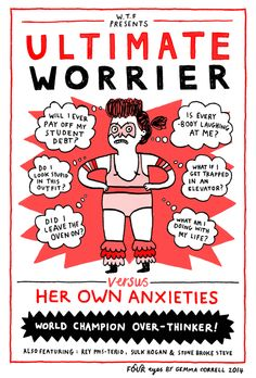 The Ultimate Worrier, via Four Eyes Comic Strip on GoComics.com