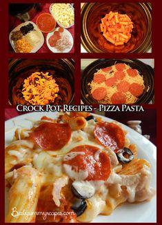 Crock Pot Recipes - Pizza Pasta - Food Recipes
