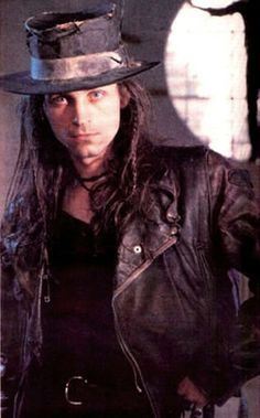 Carl McCoy, Fields of the Nephilim-- still one of my favorite bands <3
