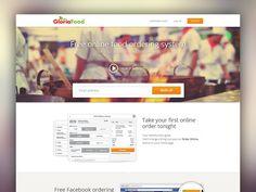 Food ordering system website by Bota Iusti