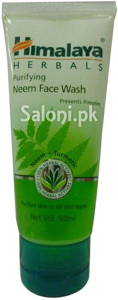 HIMALAYA HERBALS PURIFYING NEEM FACE WASH Saloni™ Health
