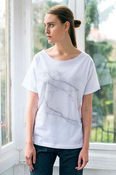 Marble t-shirt by GAU || greatasyou.pl/