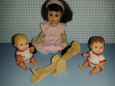 mis muñecas: MIni columpio